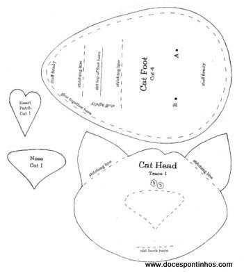 выкройка кота (2) (351x400, 13Kb)