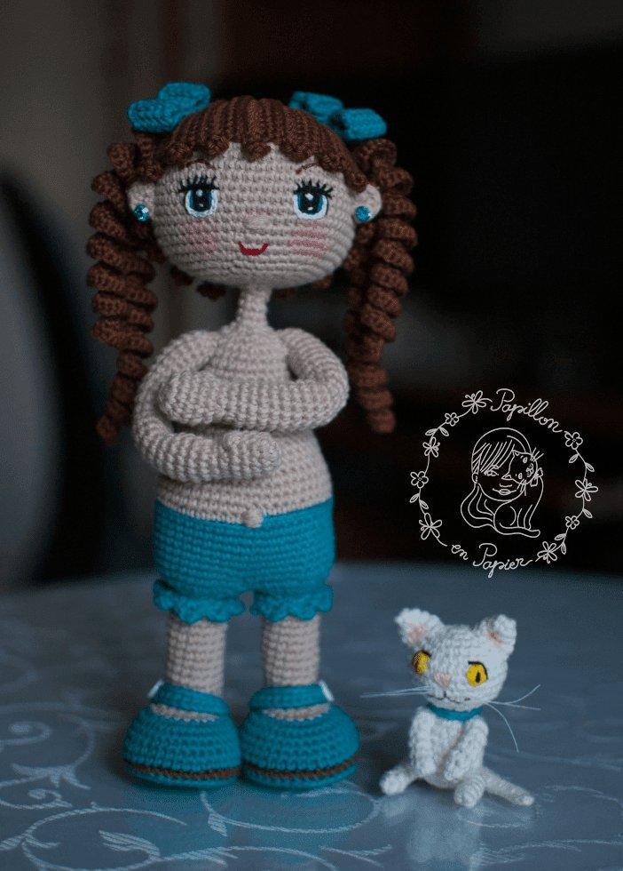 Амигуруми кукла крючком