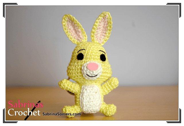Кролик амигуруми друг Винни Пуха